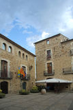 Pals, Costa Brava, Girona, Spain Stock Images