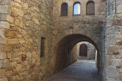 Pals. Girona Stock Image