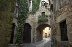 Pals. Girona Stock Images