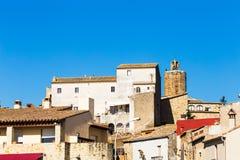 Pals. Little medieval village of Pals, Costa Brava Stock Images
