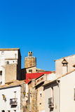 Pals. Little medieval village of Pals, Costa Brava Stock Photos