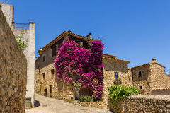 Pals medieval town in Catalonia, Spain Royalty Free Stock Photography