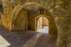 Pals medieval town in Catalonia, Spain Royalty Free Stock Image