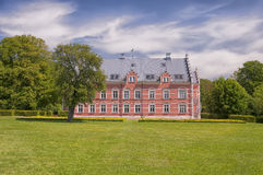 Palsjo Slott Back Facade Stock Photo