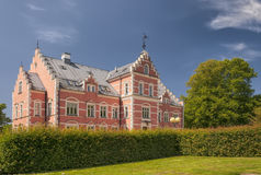 Palsjo Slott From Front Garden Royalty Free Stock Image