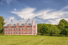 Palsjo Slott with Garden Royalty Free Stock Photos