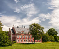 Palsjo Slott in Skane Royalty Free Stock Image