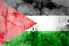 Palästina-Flagge Stockbild