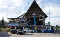 Paltinis - estación del esquí Fotografía de archivo libre de regalías