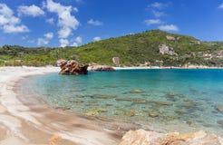 Παραλία Paltsi σε Pelio, Thessaly, Ελλάδα Στοκ φωτογραφίες με δικαίωμα ελεύθερης χρήσης