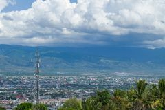 Palu, Central Sulawesi, Indonesia view royalty free stock photos