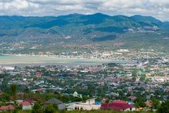Palu Yellow Bridge View After Tsunami royalty free stock images