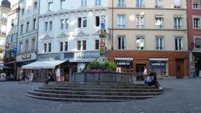 Palud de vue de Lausanne Image libre de droits
