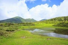 Palude del Mt Hakkodasan Immagine Stock