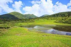 Palude del Mt Hakkodasan Fotografie Stock Libere da Diritti