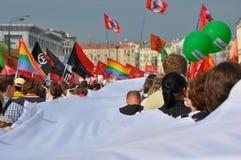 Palude milione. Mosca, 6 maggio 2012. Immagini Stock