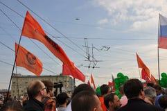 Palude milione. Mosca, 6 maggio 2012. Fotografie Stock Libere da Diritti