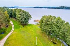 Paluse,立陶宛乡下 免版税库存图片