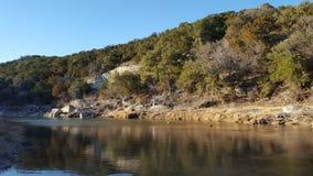Paluxy-Fluss stockfotos