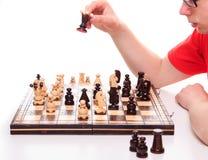 Palying chess Stock Image