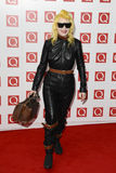 Pam Hogg. Arriving for the Q magazine Awards 2001 at the Grosvenor House Hotel, London. 24/10/2011 Picture by: Steve Vas / Featureflash Royalty Free Stock Image