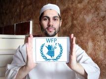 PAM, logo de programme mondial de l'alimentation Images stock