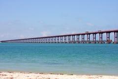 Pamban most, Rameswaram, Południowy India. obraz stock