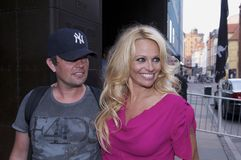 Pamela Anderson Imagem de Stock