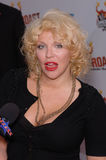 Pamela Anderson, Courtney Love Zdjęcia Royalty Free