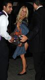 Pamela Anderson is seen at LAX Stock Image