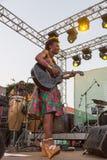 Pamela Badjogo, Gabon/Mali Fotografie Stock