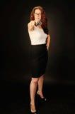 Pamela Gun Lizenzfreies Stockfoto