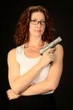 Pamela Gun Stockfotos