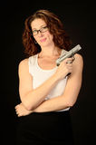 Pamela pistolet Obrazy Stock