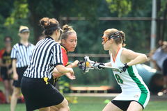 Pamela Smithwick - lacrosse Stock Image