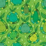 Pamelo seamless pattern Royalty Free Stock Images