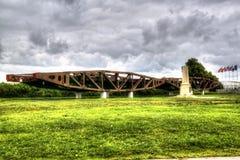 Pamiątkowi Królewscy inżyniery w Les, Francja, Normandy Jeden miejsca drugi wojny światowej desantowy ważny dzień zdjęcie royalty free