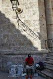 Pamiątka dla sprzedaży w kubańczyku Fotografia Royalty Free