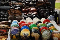 Pamiątka stół w Południowa Afryka Zdjęcia Royalty Free