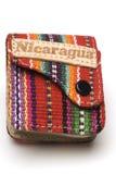 pamiątka torebkę nikaragui Fotografia Royalty Free