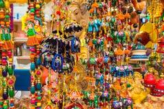 Pamiątka w prezentów sklepach przy Małym India, Singapur Obrazy Stock