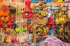 Pamiątka w prezentów sklepach przy Małym India, Singapur Zdjęcia Royalty Free