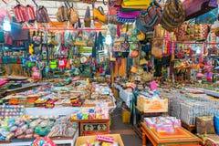 Pamiątka w prezentów sklepach przy Małym India, Singapur Fotografia Stock