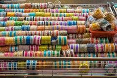Pamiątka w prezentów sklepach przy Małym India, Singapur Fotografia Royalty Free