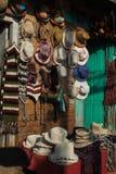 Pamiątkarski sklep dla sprzedaż podróżnika przy Kathmandu Nepal Fotografia Stock