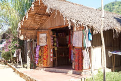 Pamiątkarski sklep, Nosaty Komba, Madagascar obraz stock