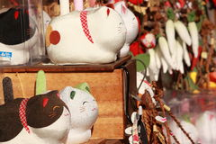Pamiątkarski sklep w Gokayama Japonia Obraz Royalty Free