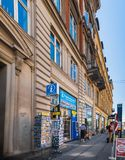 Pamiątkarski sklep w Kopenhaga, Dani obraz royalty free