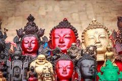Pamiątki na bublu w Bhaktapur, Nepal obraz stock