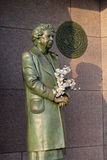 pamiątkowa Dc rzeźba Eleanor Roosevelt Washington Zdjęcie Royalty Free